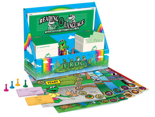 Learning Center Games - Reading and Language Set Level B