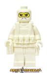 Brick Republic Custom Minifigure - Swat White Balaclava