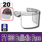 Mx Clear_PT 600 Ballistic Face