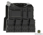 - CombatBrick Vest with mags, camelbak hydration pack