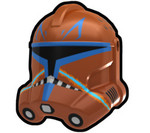 RX Dark Orange Trooper Helmet