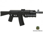 CombatBrick AK-74 with Grenade Launcher - Russian Assault Rifle
