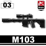Sniper rifle (M103)