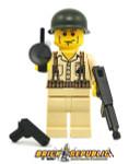 Brick Republic Custom Minifigure WWII US Marine Soldier