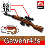 Sidan Gewehr 43s