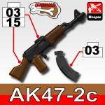 Sidan AK47 / 2C+KA1