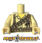 Custom Printed Lego Minifigure Torso - WWII BAR Gunner