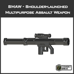 CombatBrick SMAW Shoulder-Launched  Multipurpose Assault Weapon