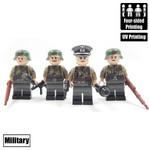 Custom Minifigure - WW2 German Fallschirmjäger Team