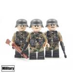 Custom Minifigure - WW2 German Pea Camouflage Team
