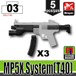 SI-DAN Black MP5X System (T40)