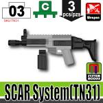 SI-DAN Black SCAR System (TN31)