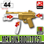 SI-DAN Dark Tan MPX Gun Body (TO25)
