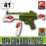 SI-DAN Tank Green MPX Gun Body (TO25)