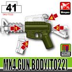 SI-DAN Tank Green MX4 Gun Body (TO22)