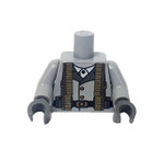 Custom Printed Lego Minifigure Torso - WWII Support Gunner Soldier
