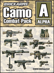 BrickArms Camo Combat Pack - ALPHA