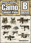 BrickArms Camo Combat Pack - BRAVO