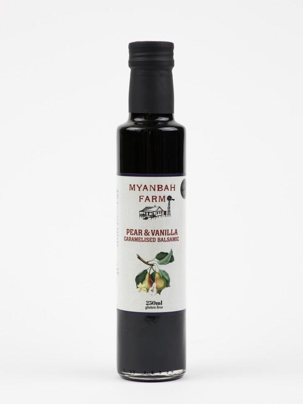 Caramelised Balsamic with Pear & Vanilla 250ml