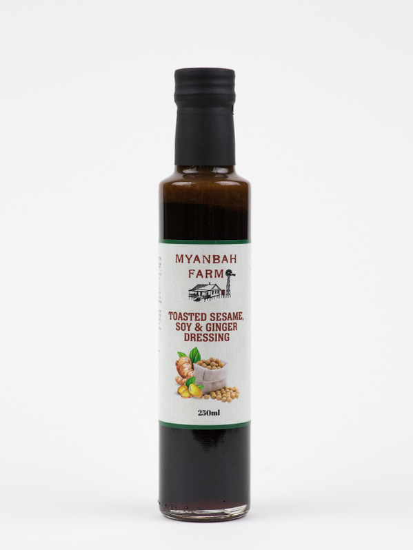 Toasted Sesame, Soy & Ginger Dressing 250ml