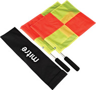 Mitre Ali Handle Linesmens Flags pack of 2