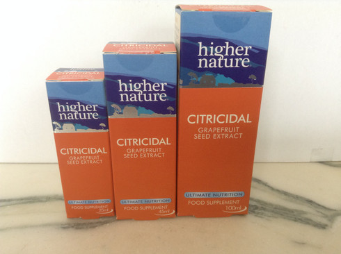 Higher Nature Citricidal Liquid 45ml