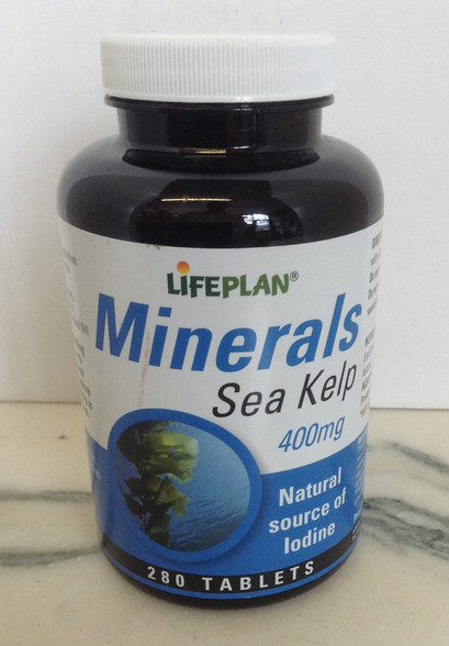 Lifeplan Sea Kelp 400mg 280 Tablets
