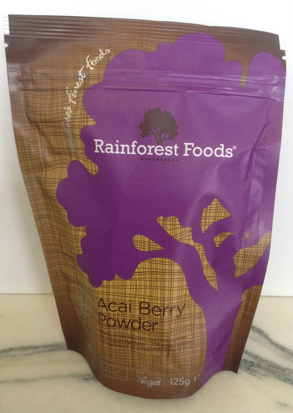 Rainforest Foods Acai Berry Powder 125g