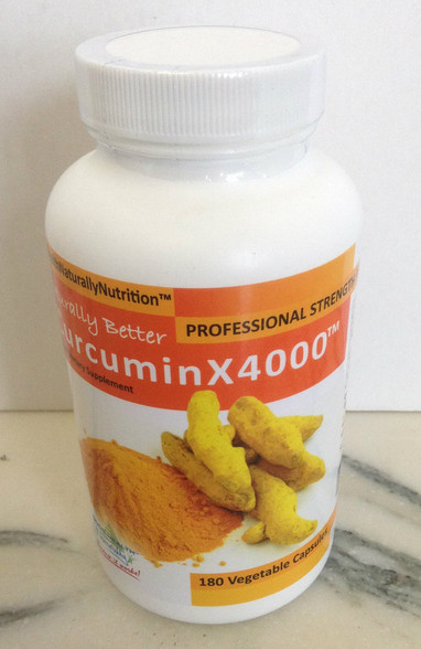 Naturally Healthy Curcumin X4000 - 200mg 180 Capsules