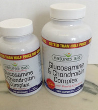 Nature's Aid Glucosamine and Chondroitin Complex with Rosehip and Turmeric 180 Capsules