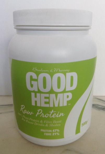 Braham And Murray Natural Hemp Protein Powder - 500g