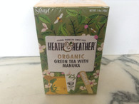 Heath & heather Green Tea with Manuka 20 tea bags.