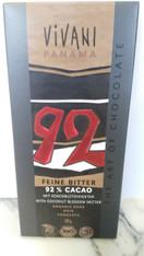 Vivani 92% Cacao fine bitter chocolate 80g