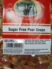 SUGAR FREE PEAR DROPS BY STOCKLEYS. 500g