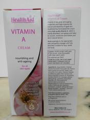 Vitamin A cream 75 ml. No SLS, No Parabens, No Artificial Fragrances. PH balanced.