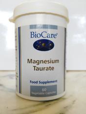 Magnesium Taurate 60 veg/vegan caps.