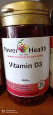 VITAMIN D3 5000IU BY POWER HEALTH