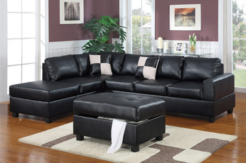 3-PCS SECTIONAL (OTTOMAN INCLUDED)