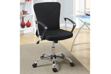 OFFICE CHAIR MANAGER BLACK