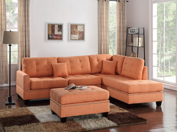 3PCS SECTIONAL CITRUS COLOR