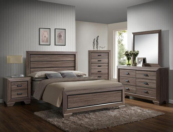 FARROW QUEEN BEDROOM SUITE 4PC