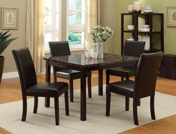 POMPEI DINING SET BLACK