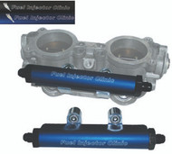 FIC STi ('04 - '06) Top Feed Conversion Fuel Rails with -8AN In/-6AN Out End Fittings