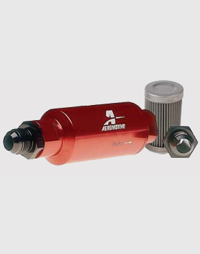 Aeromotive In-Line Fuel Filter (100 Micron) on