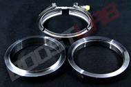 """3.5"""" Stainless Steel V-Band Assembly"""