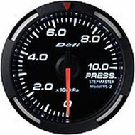 Defi White Racer Press Gauge