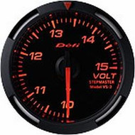 Defi Red Racer Volt Gauge