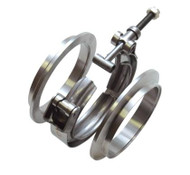 "Vibrant Exhaust Fabrication - V-Band Flange Assemblies For 2.5"" O.D. Tubing"