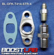 BL T3/T4 Frame Turbo Oil Fitting Kit (Standard NPT Drain Flange)