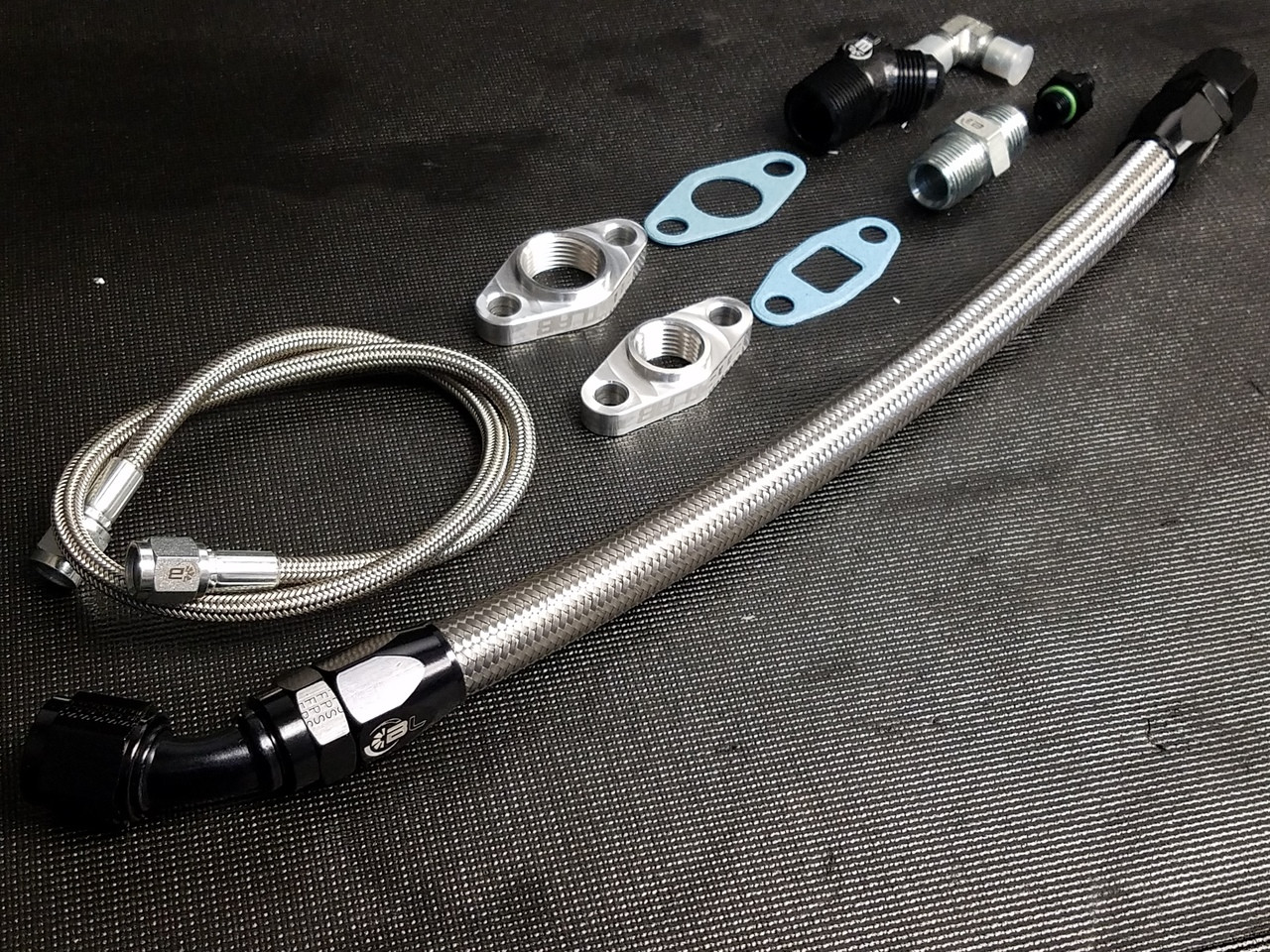 Boost Lab 2JZ Single Turbo Oil Line & Fitting Kit